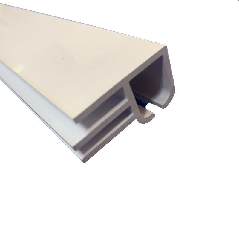 PVC冷鼎型材 ABS冷挤型材 塑料异型材加工