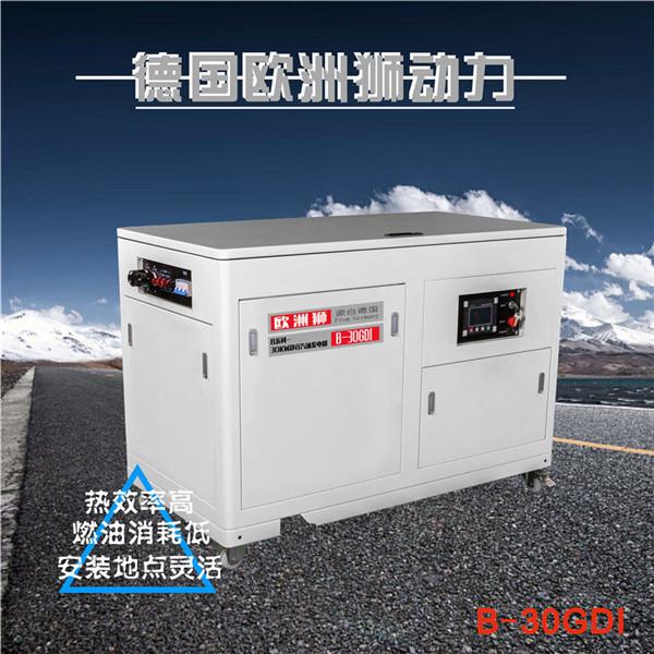 20KW靜音汽油發電機手提