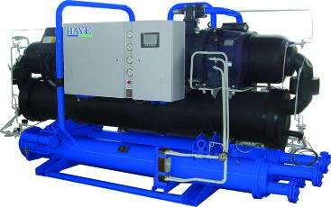 高效節能水冷低溫螺桿冷凍機組