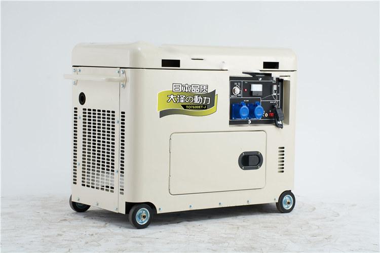 車載3千瓦小型發電機組
