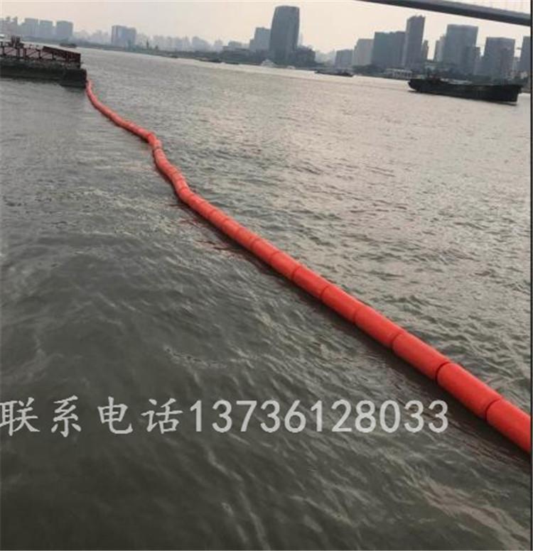 湖面禁区拦船喷字警示浮体供应