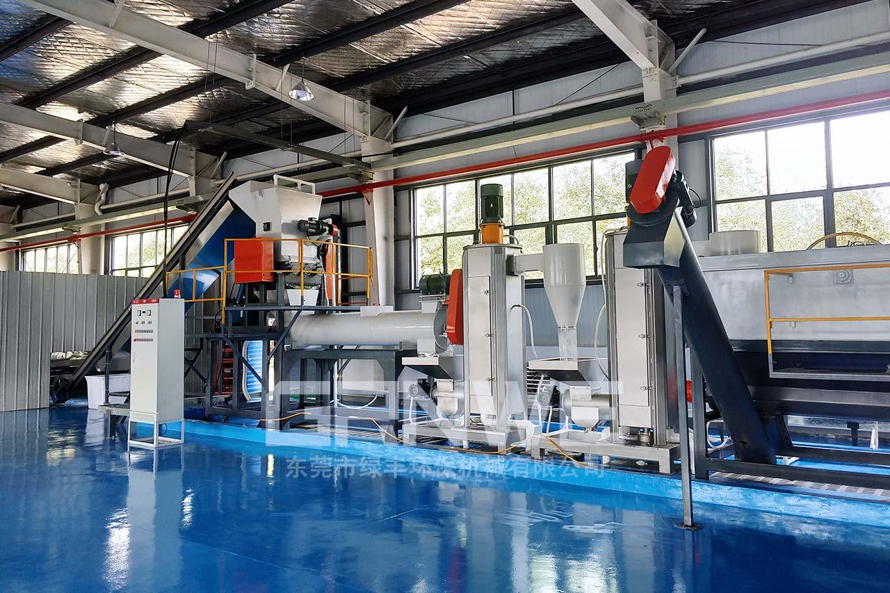 一次性輸液瓶回收處理粉碎清洗分離環保設備