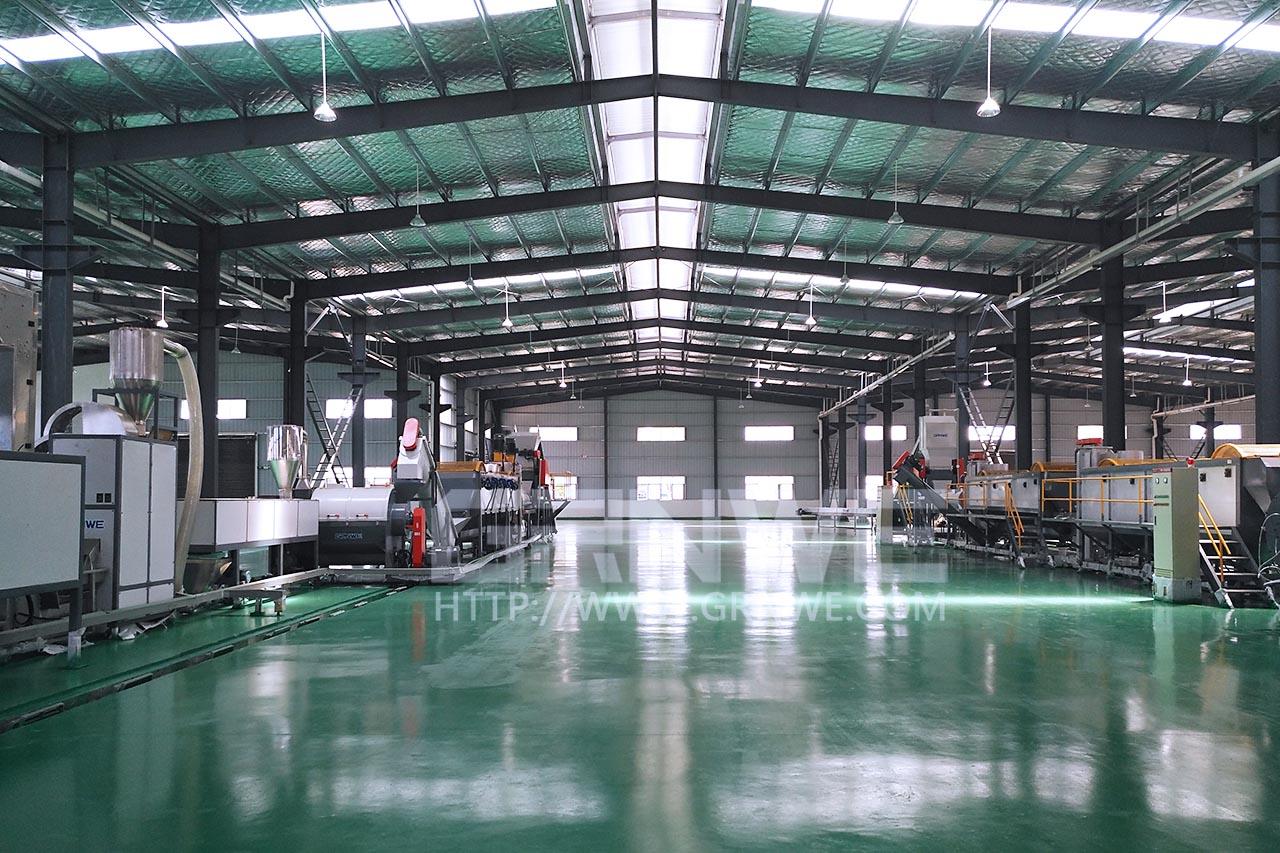 厂家直销HDPE化工桶破碎清洗回收生产线设备