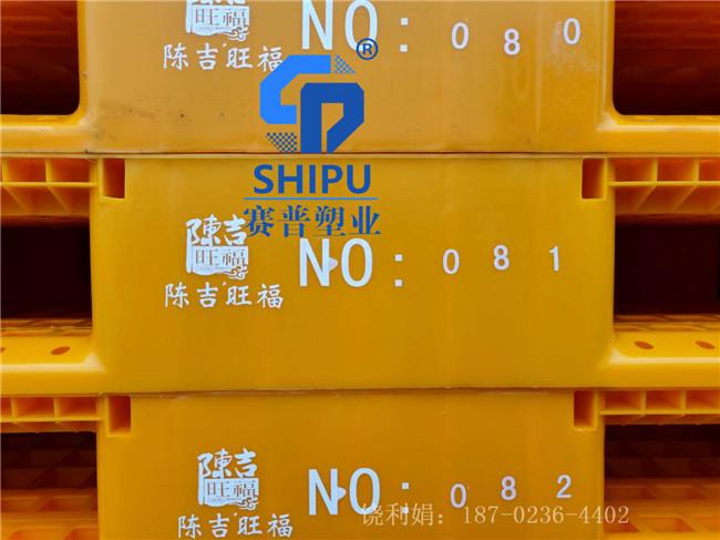 塑料托盘1210网格川字重型货架叉车板