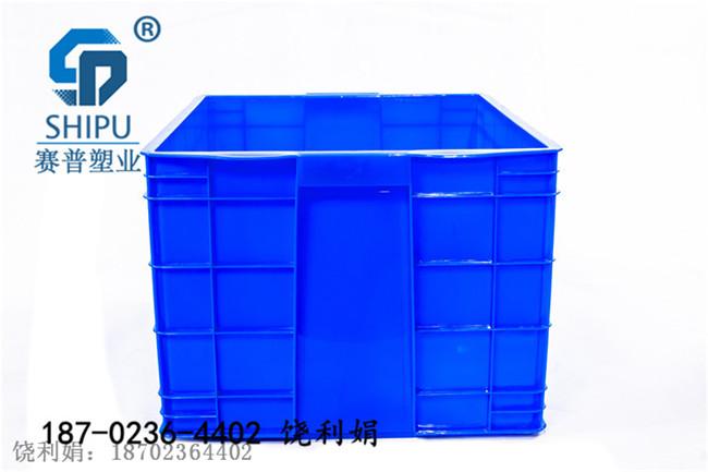 塑料周轉箱電子包裝箱可配標簽生產廠家