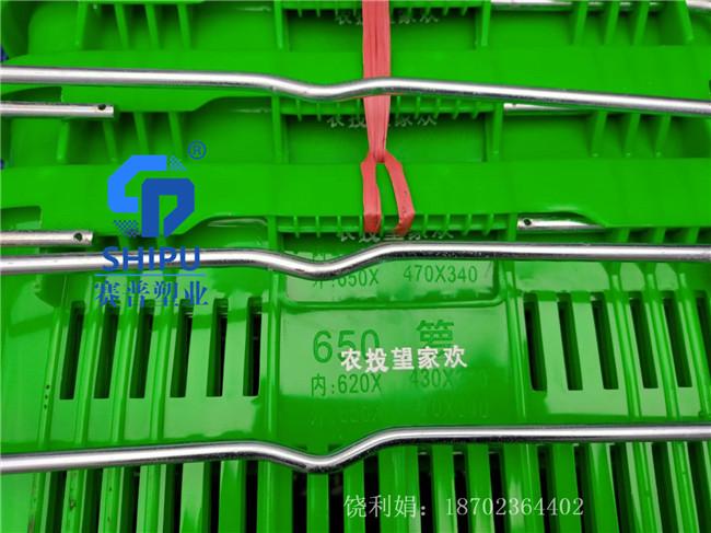 绵阳塑料周转萝铁耳蔬菜运输箩框