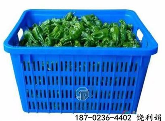 铜梁塑料周转萝超市蔬菜箩框