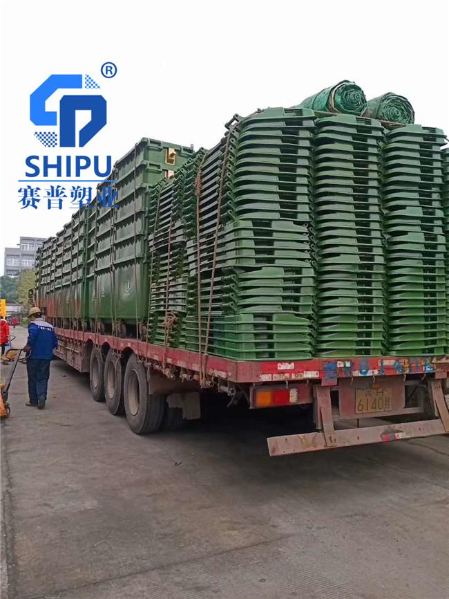 吴忠660升大型分类垃圾桶