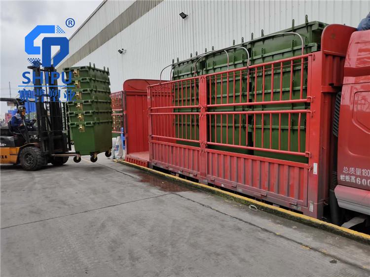 贵港660L医疗废物垃圾桶