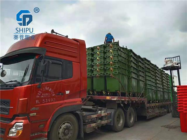 麗江660升大號可移動垃圾桶