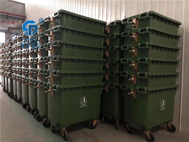 大理660升大型分类垃圾桶