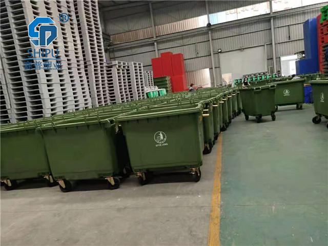 西双版纳660升大型分类垃圾桶