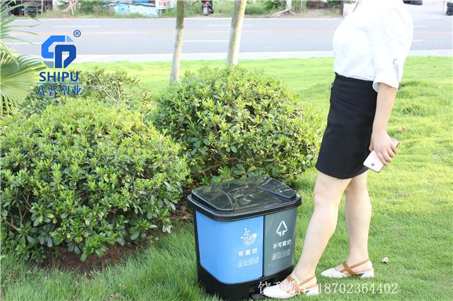40升分类垃圾桶