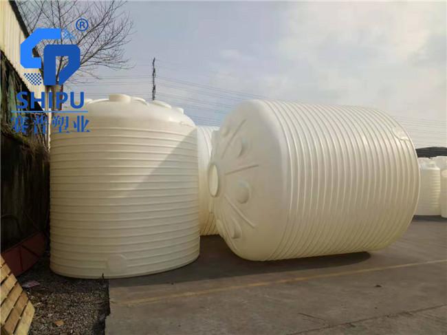 6吨塑料水塔  40吨大型食品级储罐设备