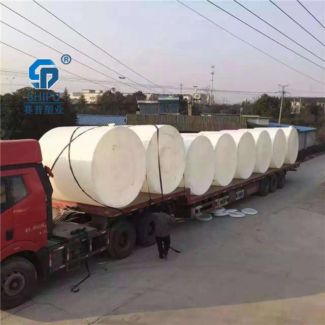 10吨塑料储罐 盐酸储罐图片