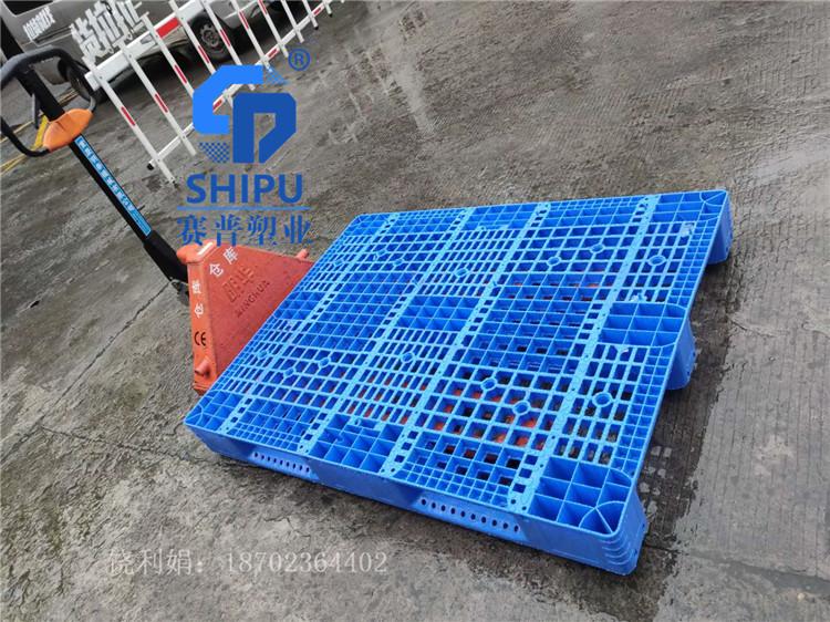 塑料托盘叉车1412网格川字型仓库垫仓板