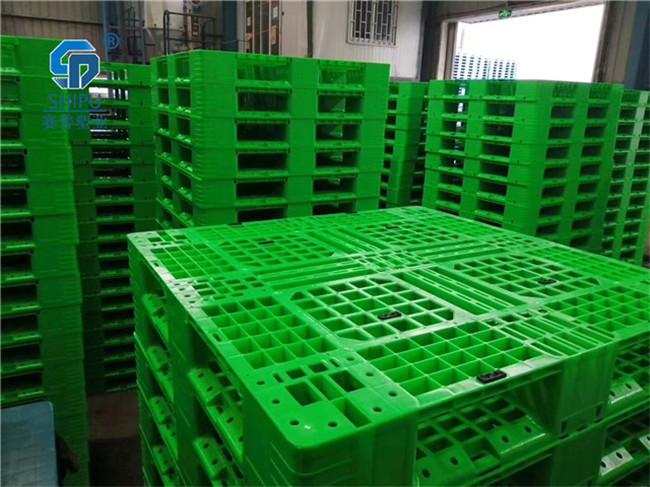 厂家直销1208九脚塑料托盘仓储垫仓板