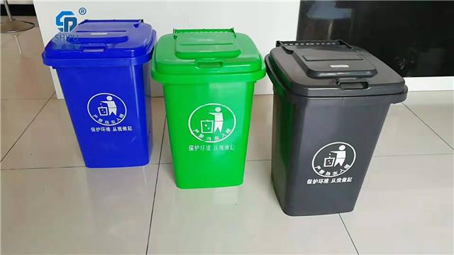 四川巴中小區路邊30升垃圾桶
