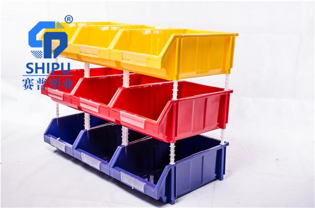 螺丝五金物料收纳塑胶盒子组立式塑料货架厂家直销