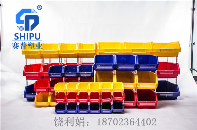 塑料零件盒组合式斜口盒规格尺寸