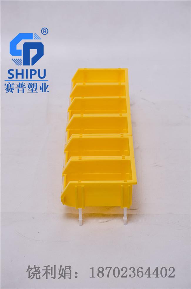 塑料零件盒组合式斜口盒供应商
