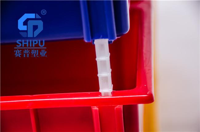 塑料零件盒组合式斜口盒厂家直销