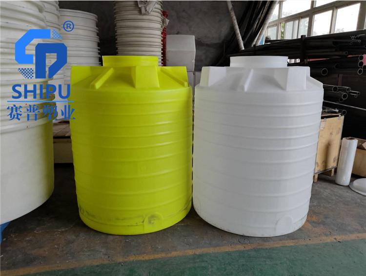 1000L塑料水桶白色塑胶储罐发酵桶