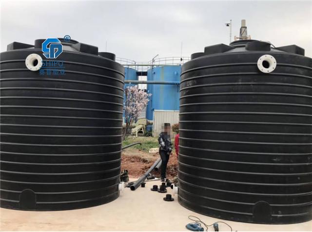 20吨水泥助磨剂储罐 PE加厚塑料水箱