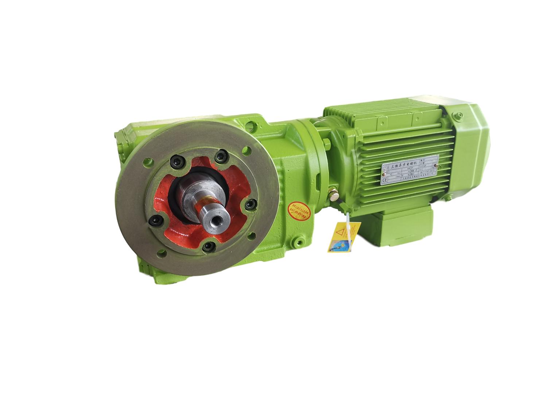K系列減速機KF57-Y1.5kW-4P 螺旋錐齒輪優點