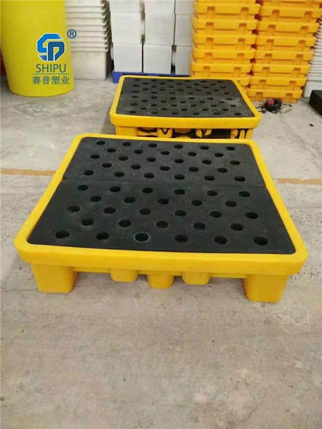 合川油桶托盘化工4桶盛漏托盘规格尺寸