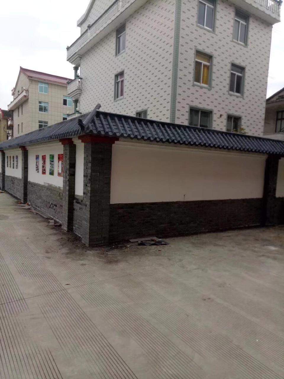 屋檐一体瓦 围墙一体瓦 门头一体瓦厂家批发