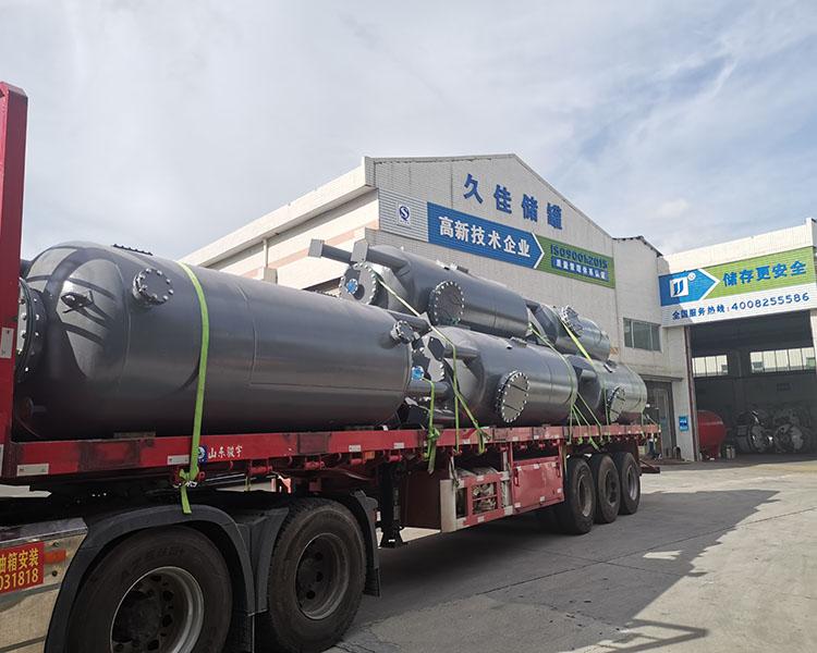 陰陽離子交換柱 鋼襯pe過濾罐 原水處理交換設備