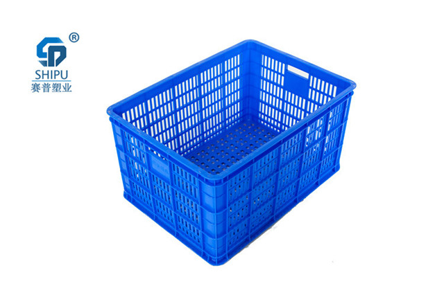 黔南塑料周转箩透气耐摔耐磨塑料筐厂家直销
