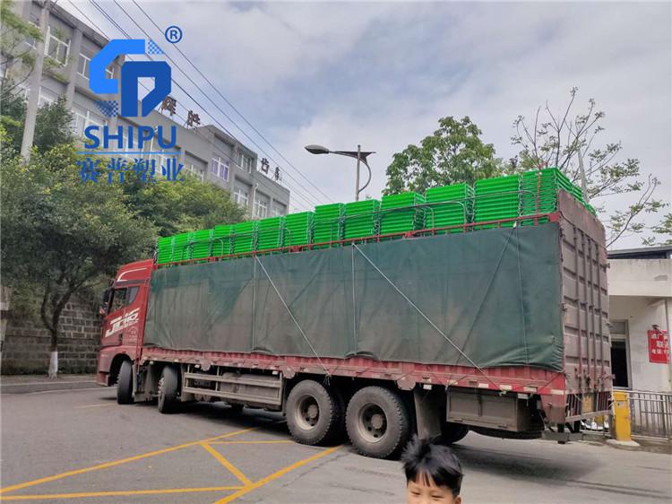 广安塑料周转筐二手白色塑料筐生产厂家