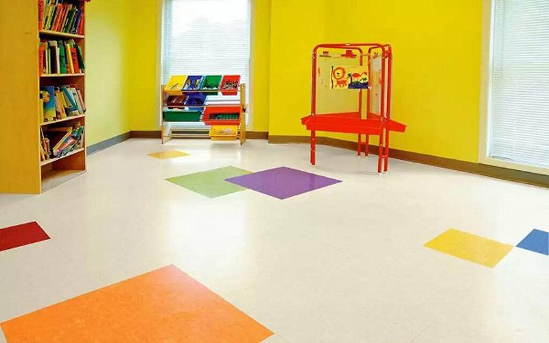 休閑會所懸浮地板pvc彈性地板安裝公司信譽保證