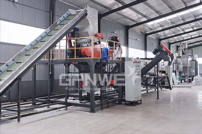 塑料清洗设备 河南郑州废旧IBC回收处置设备