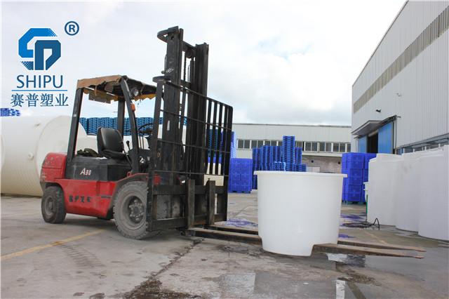 赛普塑业200升广口圆桶漂染桶 清洗桶