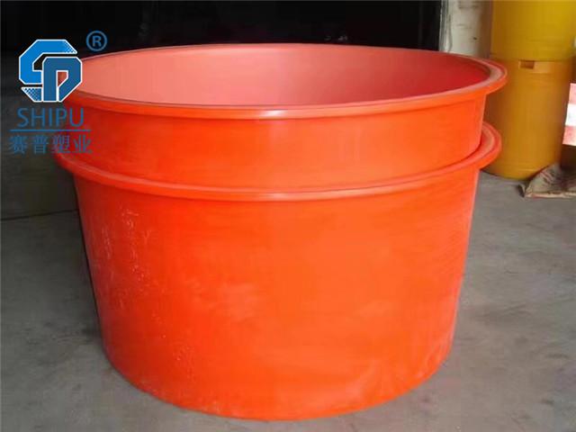 賽普塑業400升發酵圓桶醬菜腌制桶