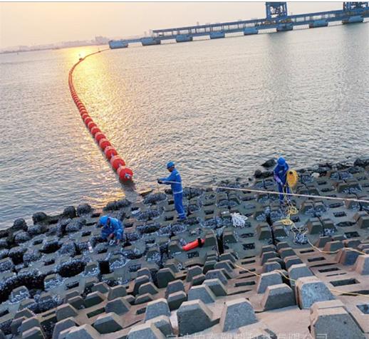 南平市水电站拦截树枝用塑料拦污排【水面拦污】