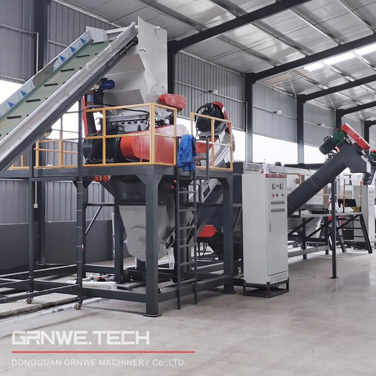 全自动化整套日杂PE塑料回收水洗生产线