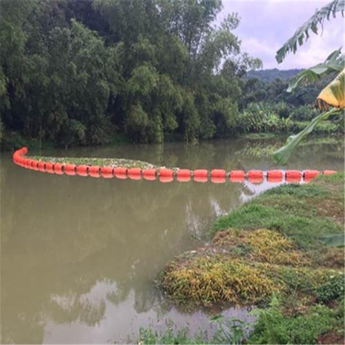 【柏泰】河道水草水葫芦垃圾拦截网浮体