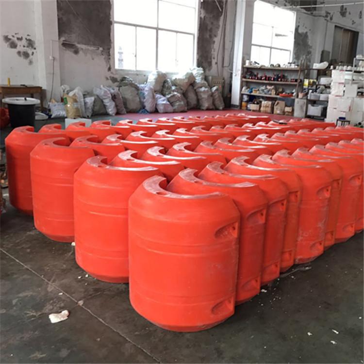 柏泰供应托管浮筒水源地取水夹管浮体抽沙管道浮桶