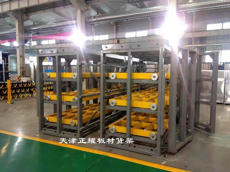 多層板材貨架立體存放占地小擺放的板材種類多數量大