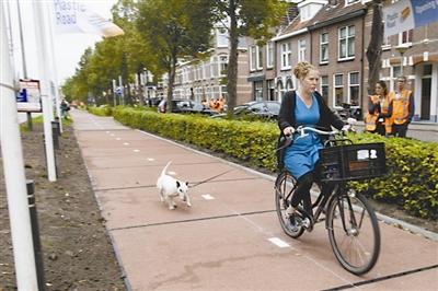 文章1-61 荷兰塑料自行车道正式通车.jpg